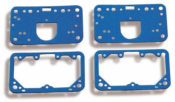 Holley 108-200 Carburetor Gaskets, Reusable, Composite, Fuel Bowls/Metering Blocks, Holley Carburetors, Kit