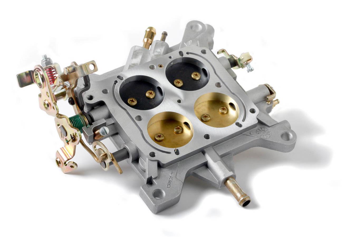 Holley 112-114 Carburetor Base Plate, Complete, Aluminum, Natural, Holley 4150 Carburetor, Each