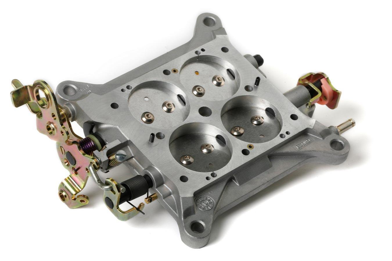 Holley 112-121 Carburetor Base Plate, Complete, Aluminum, Natural, Holley 4150 Carburetor, Each