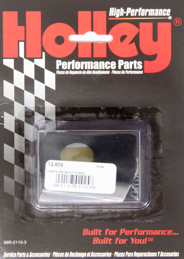 Holley 12-806 Electric Fuel Pump Check Valve Kit