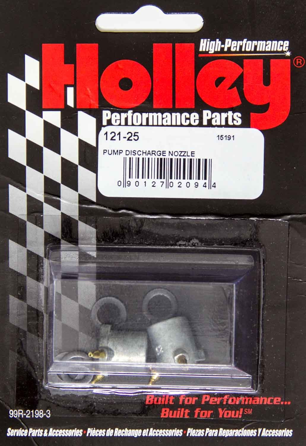 Holley 121-35 Accelerator Pump Discharge Nozzle, 0.035 in ID, Tube Type, Holley Carburetors, Pair