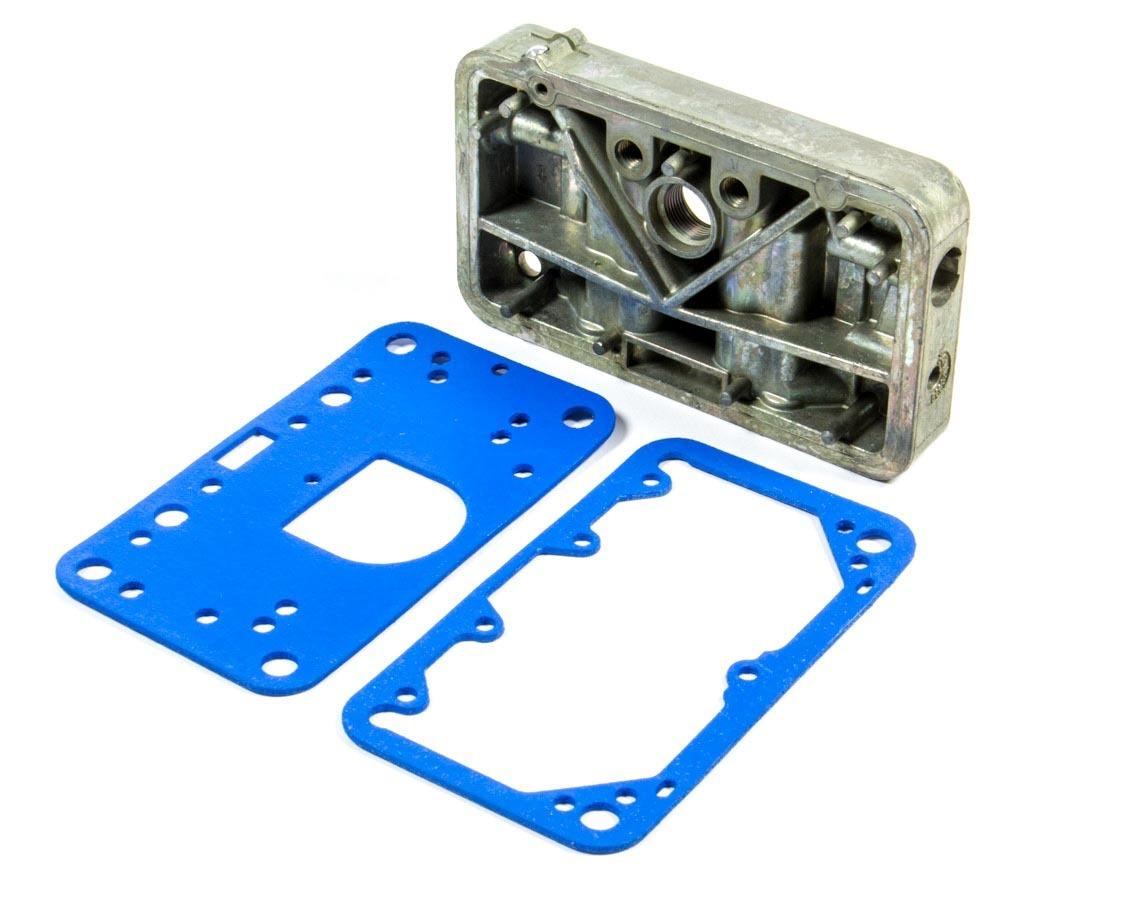 Holley 134-137 Metering Block, Gaskets Included, Aluminum, Chromate, Primary, Holley 2300 Carburetors, Kit