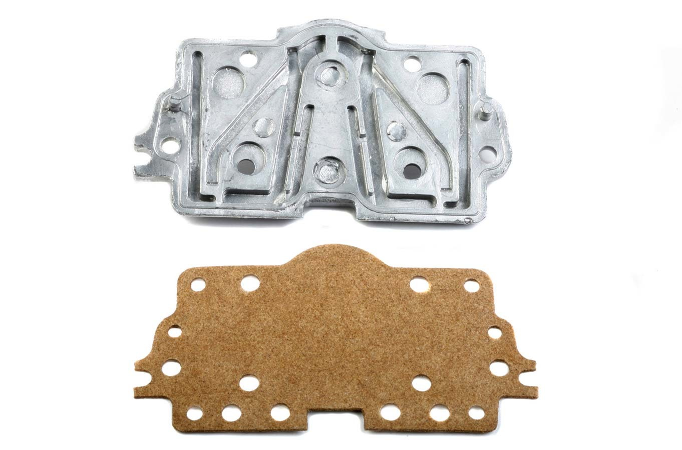 Holley 134-21 Metering Plate, 0.081 Main in Hole, 0.040 in Idle Hole, Gasket Included, Aluminum, Natural, Holley 4160 Carburetors, Kit
