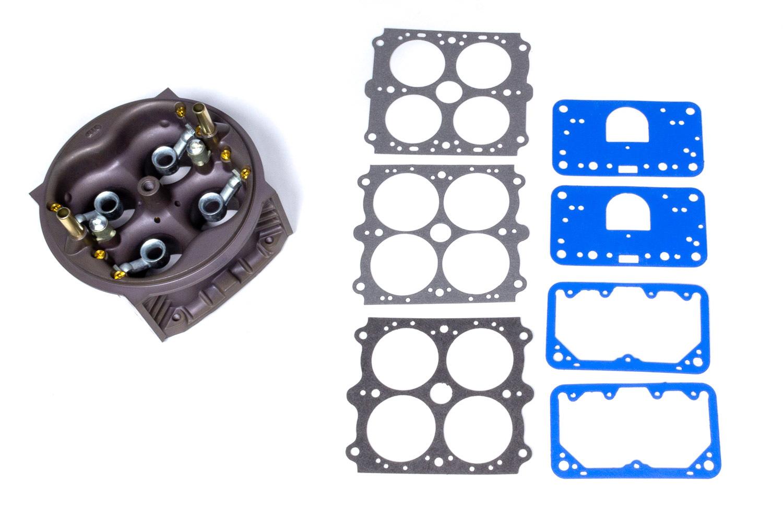 Holley 134-321 Carburetor Main Body, Ultra XP Replacement, 600 CFM, Aluminum, Hard Core Gray, Holley Ultra XP Carburetors, Kit