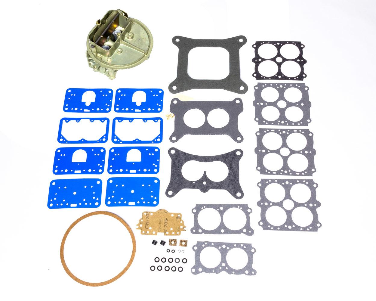 Holley 134-340 Carburetor Main Body, Replacement, 350 CFM, Zinc, Chromate, Holley Performance Model 2300 Carburetor, Kit