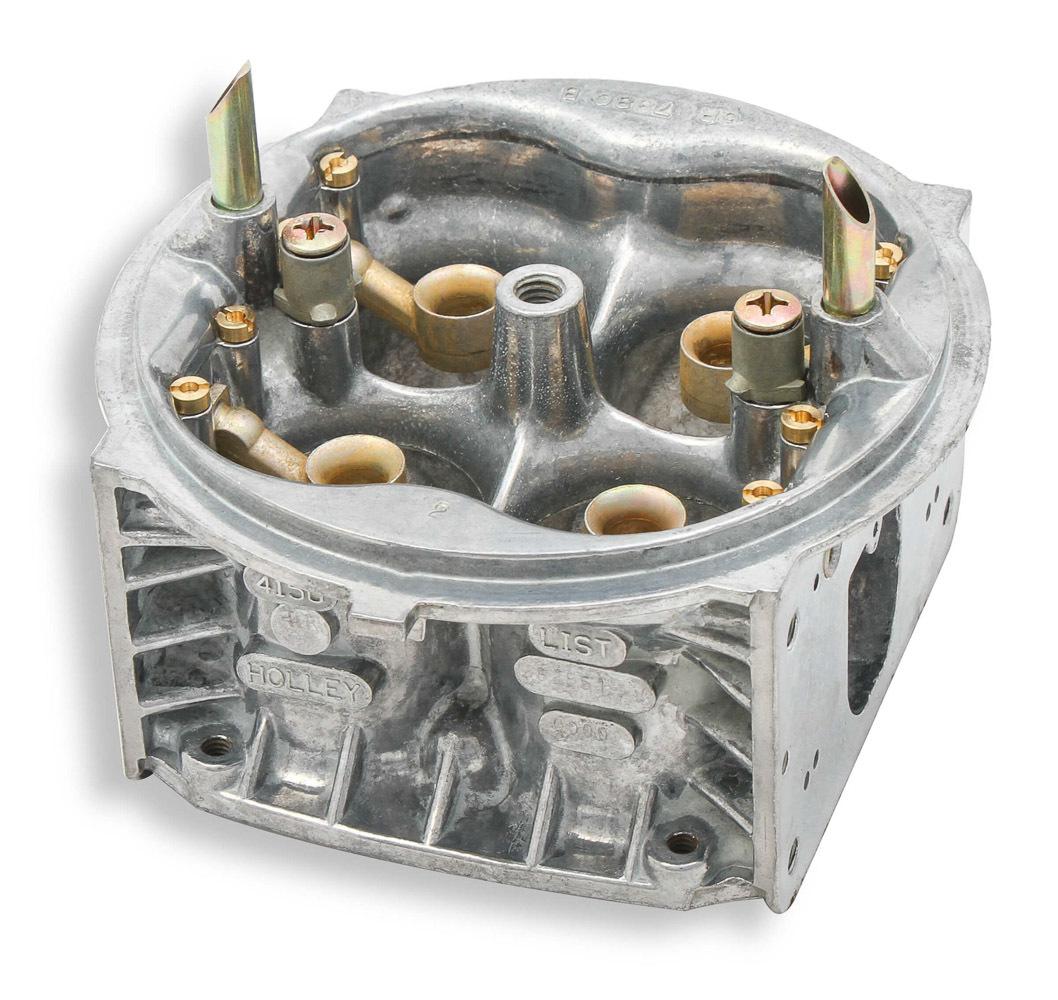 Holley 134-355 Carburetor Main Body, Replacement, 850 CFM, Zinc, Chromate, Holley Street HP Model 4150 Carburetor, Kit