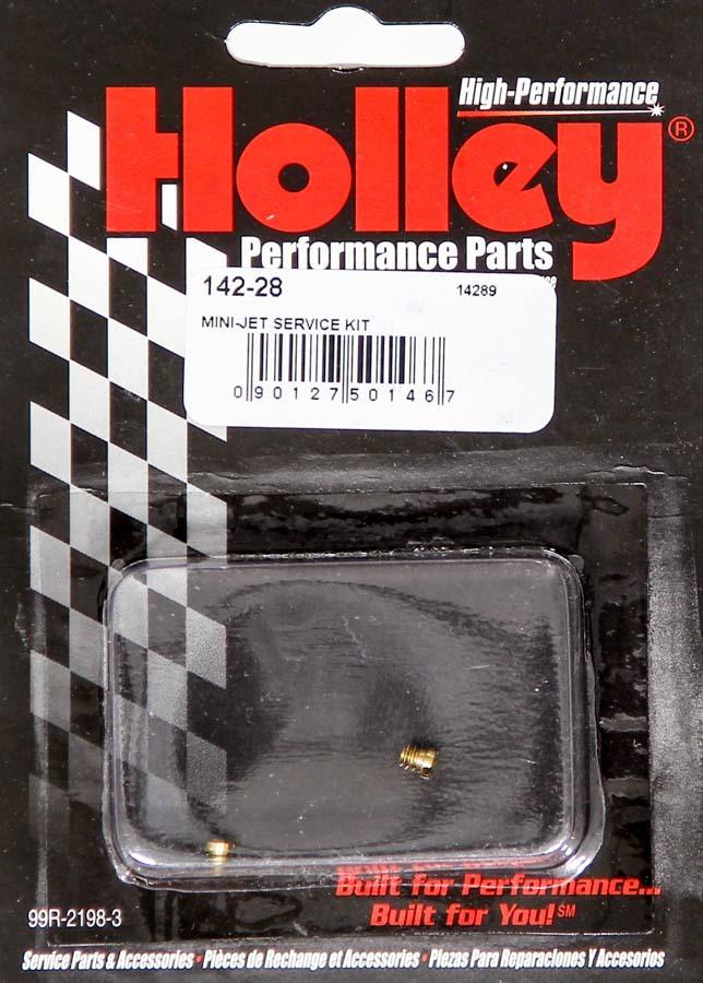 Holley .028 Mini-Jets (2pk)