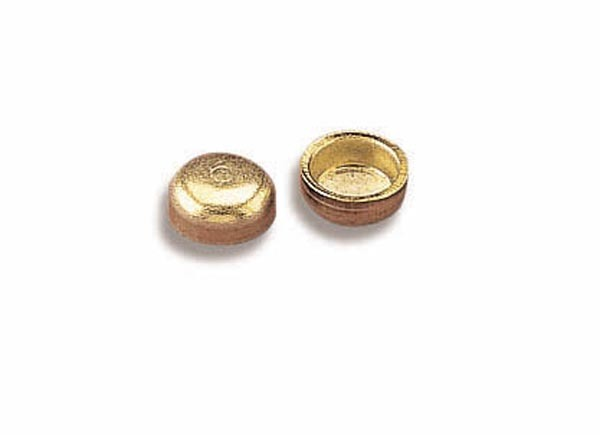 Holley 26-111-10 Metering Block Plug, Main Well, Brass, Natural, Set of 10