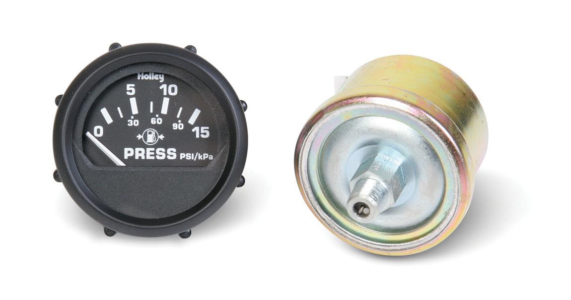 Electric Fuel Press Gaug