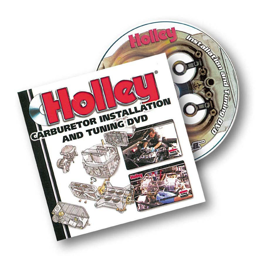 Holley 36-378 DVD, Carburetor Installation and Tuning, Each