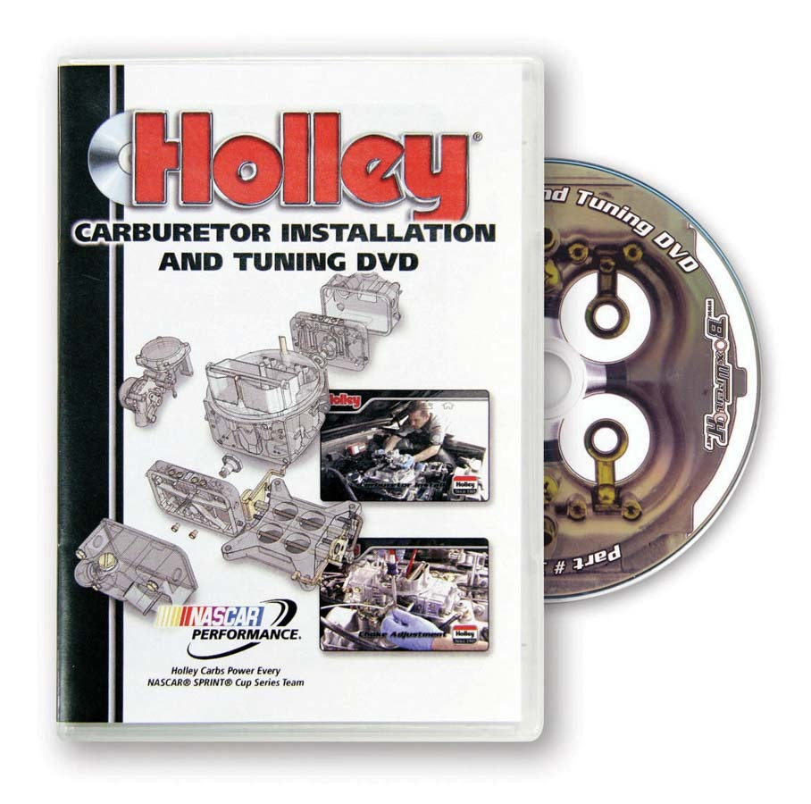 Holley 36-381 DVD, Carburetor Installation and Tuning, Each