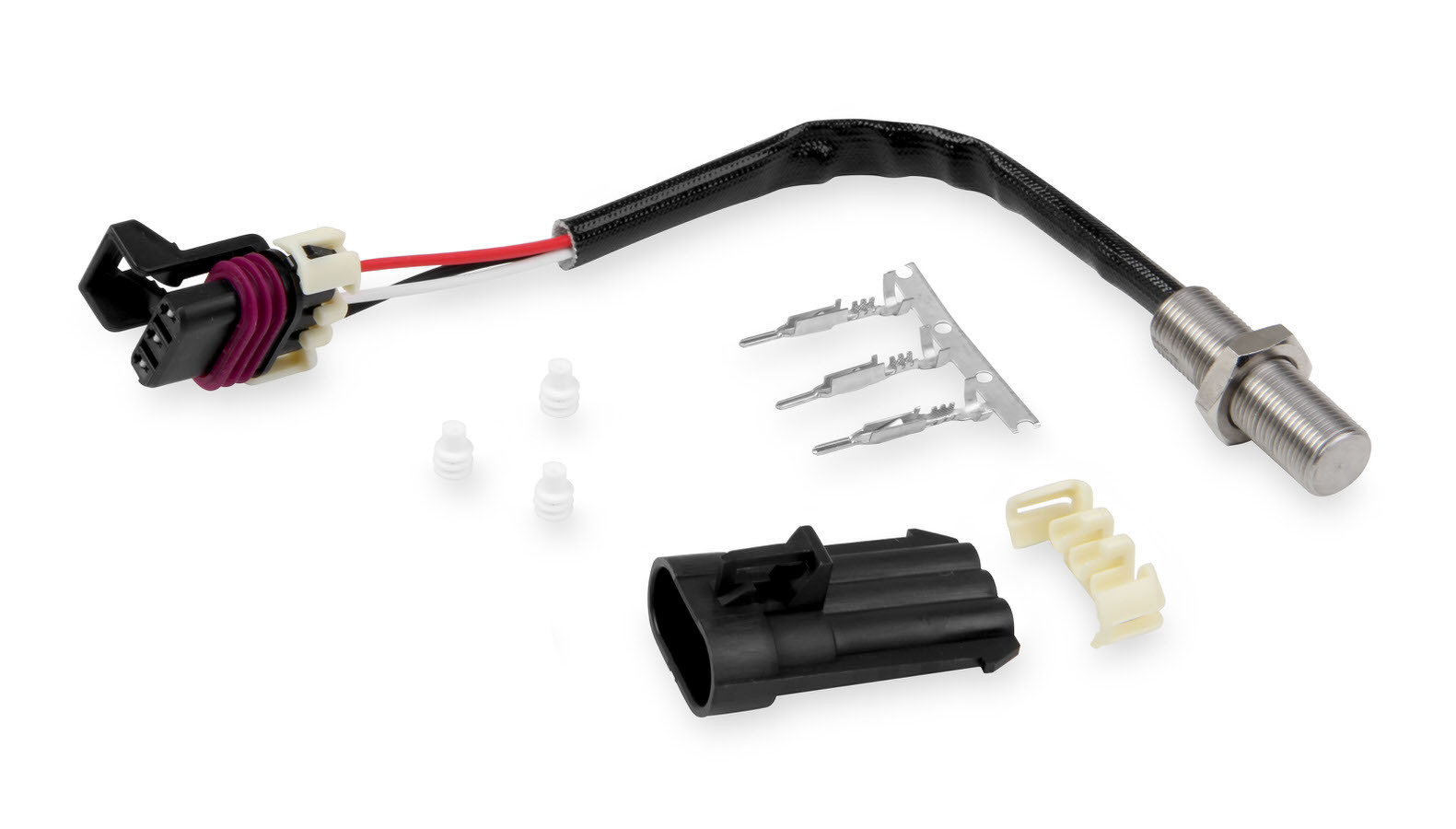 Holley 554-125 Cam Position Sensor, 12 x 1 mm Thread, Flying Magnet, Holley EFI Kits, Kit