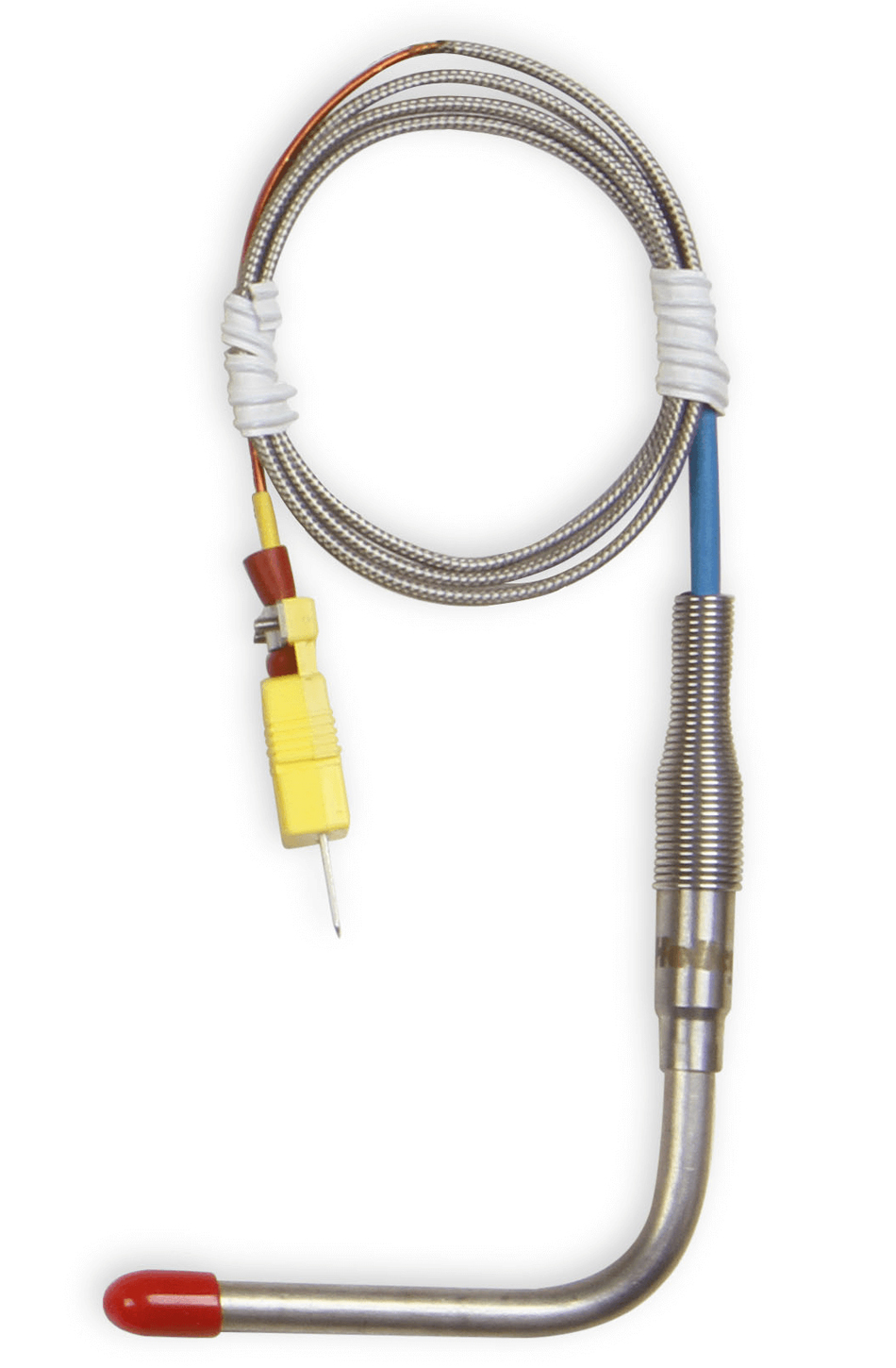 Holley 1/4 EGT Probe - Open Tip 90-Degree 32.25in Length