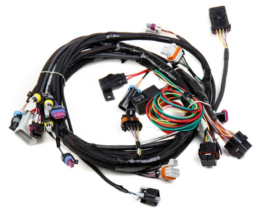 Holley 558-102 EFI Wiring Harness, Main Harness, Holley Hp / Dominator EFI, 24x Reluctor Wheel, LS1 / LS6, GM LS-Series, Each