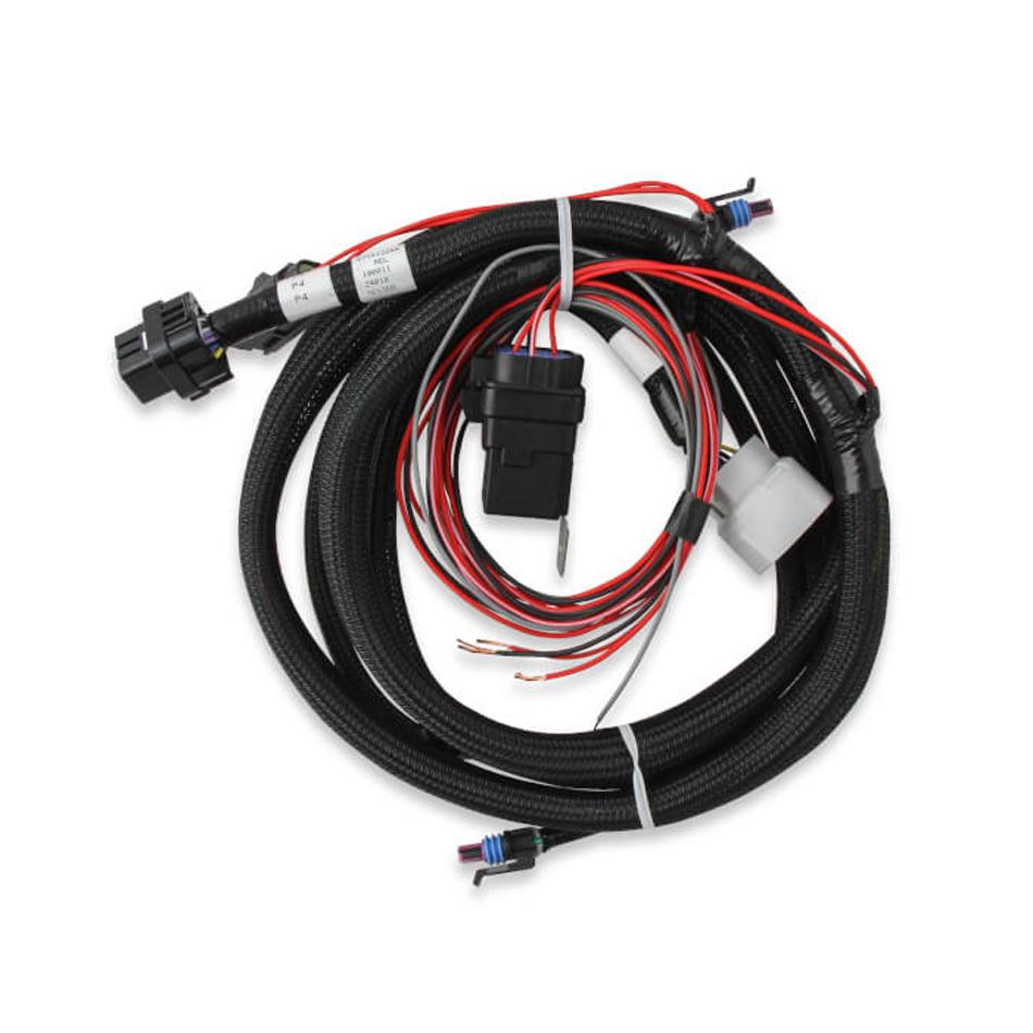 Holley 558-455 Transmission Wiring Harness, Plug-N-Play, Dominator ECU, 4L60E 2009-19, Each