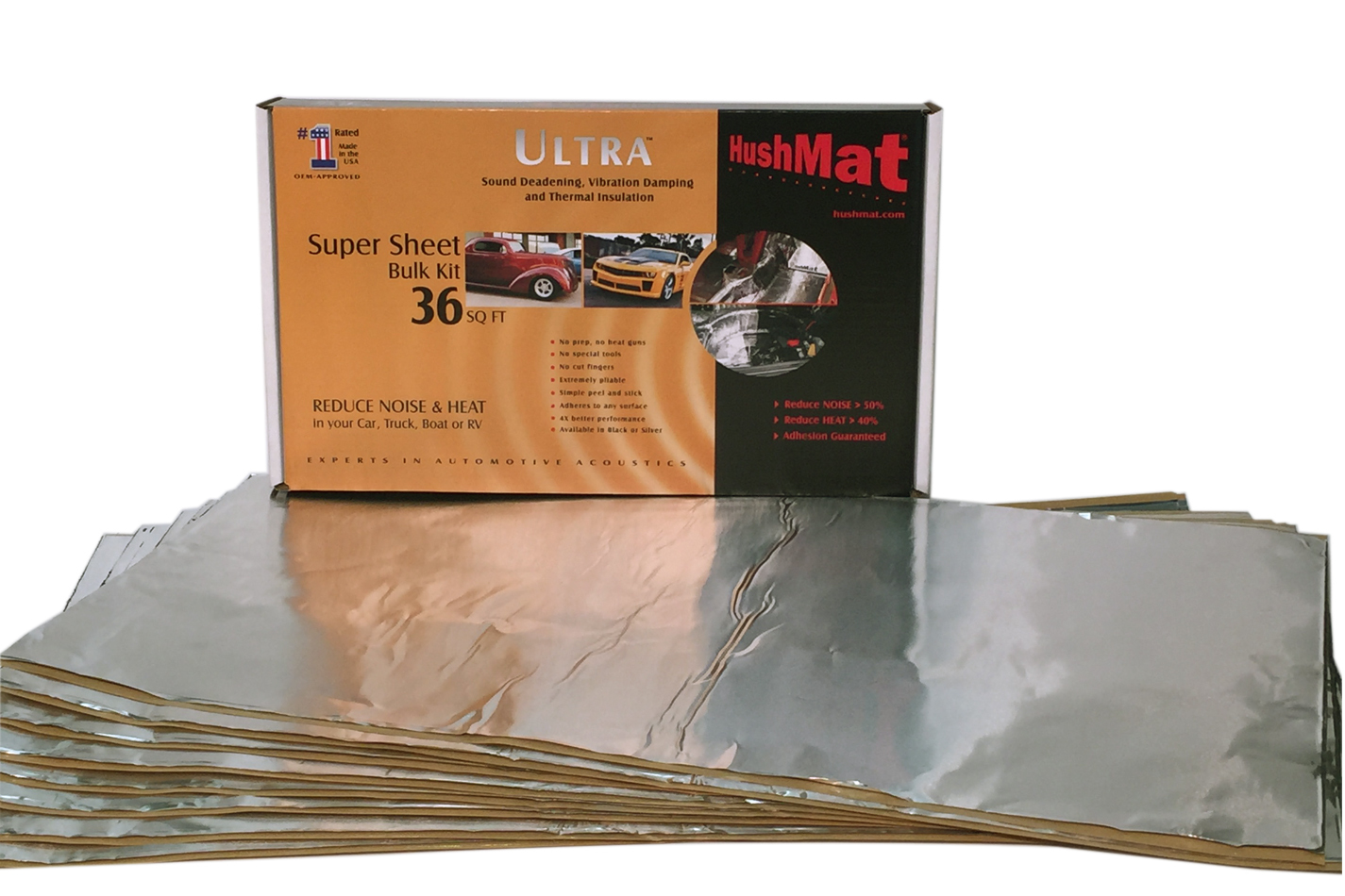 Super Bulk Kit  Contains (9) 18in x 32in Silver