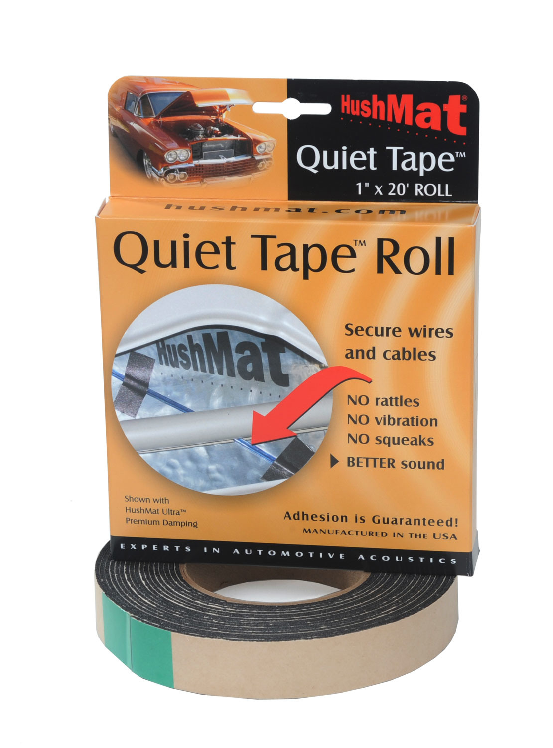 Quiet Tape Shop Roll 1in x 20ft