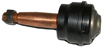 Howe 22429 Ball Joint, Greasable, Lower, Press-In, 2.000 in/ft Taper, 4.160 in Stud, 9/16-18 in Thread, Aluminum, Each