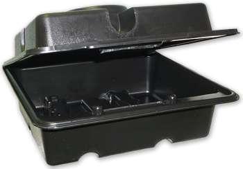 Howe 8610 Carburetor Case, Tote, Polypropylene Plastic, Black, Holley 2 / 4-Barrel Carburetors, Each