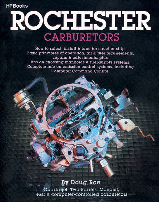 HP Books HP014 Book, Rochester Carburetors, 176 Pages, Paperback, Each