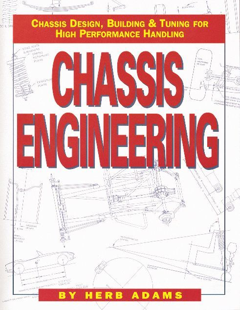 HP Books HP1055 Book, Chassis Engineering, 144 Pages, Paperback, Each