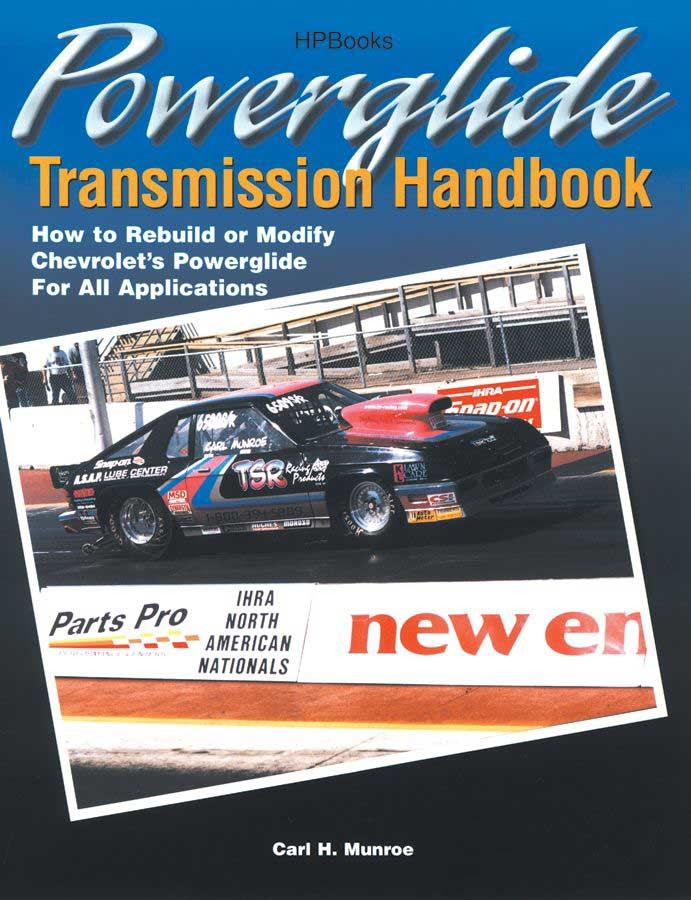 HP Books HP1355 Book, Powerglide Transmission Handbook, 240 Pages, Paperback, Each