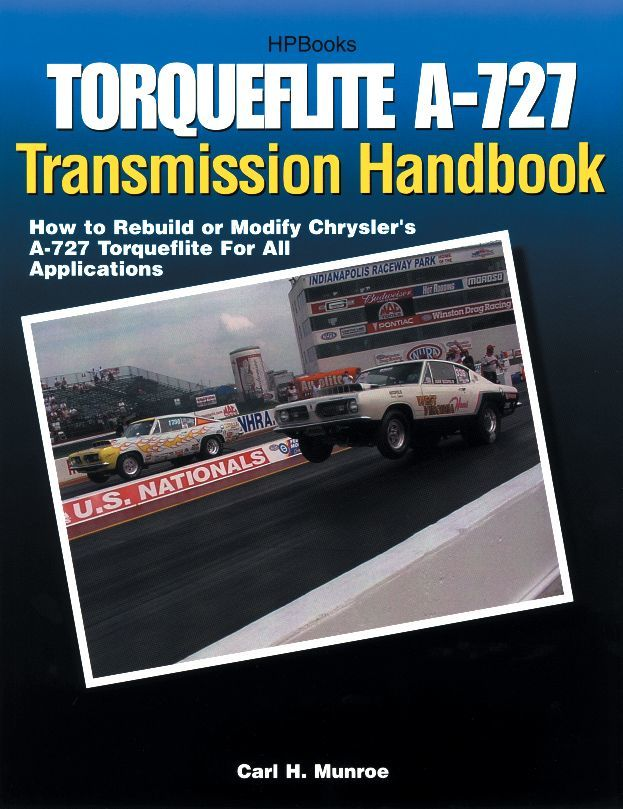 HP Books HP1399 Book, Torqueflite A-727 Transmission Handbook, 240 Pages, Paperback, Each
