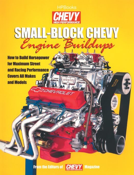 HP Books HP1400 Book, Small Block Chevy Engine Buildups, 176 Pages, Paperback, Each