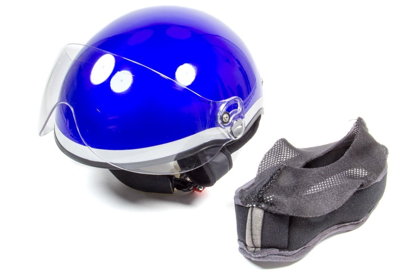 Head Pro Tech 1005 Helmet, EMT1, Royal Blue, Large to 3X-Large, Each