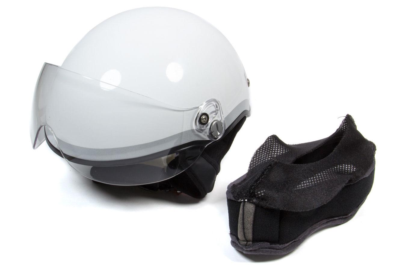 Helmet Paramedic EMT1 White Blue XXS-XS 52-55