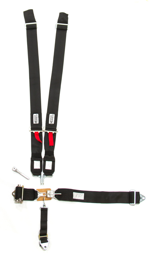 5-Pt Harness System LL Ratchet Adj Black
