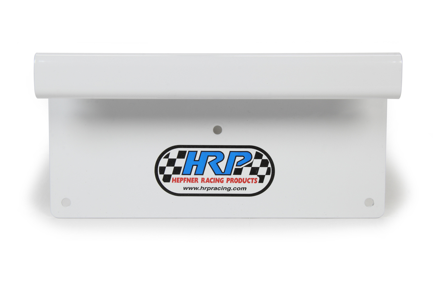 Hepfner Racing Products HRP6262-WHT Fuel Funnel Hook, Aluminum, White Powder Coat, Triangle Style Funnels, Each