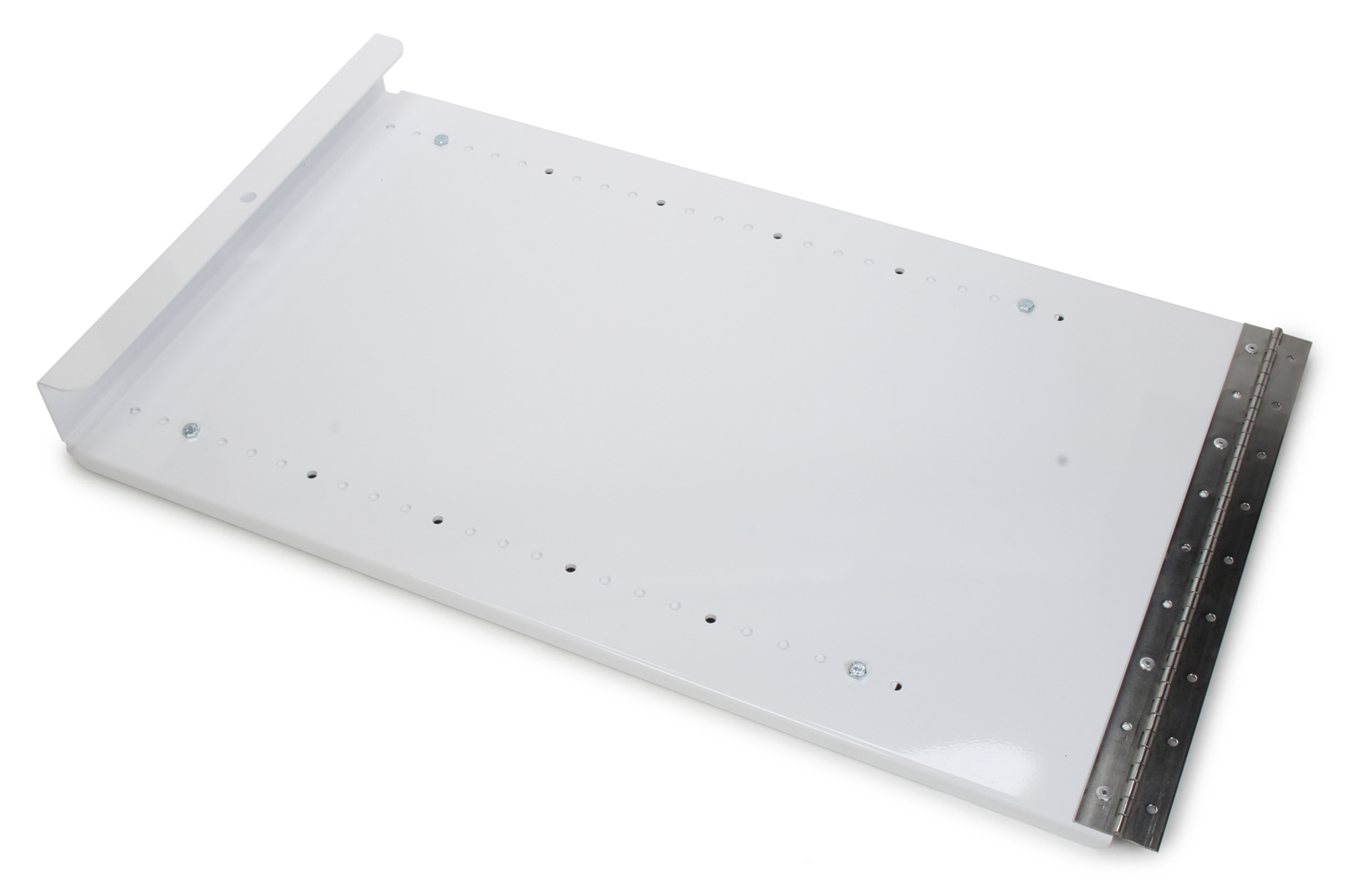 Hepfner Racing Products HRP6551-WHT Wing Holder, Roof Mount, Top Wing, Aluminum, White Powder Coat, Kit