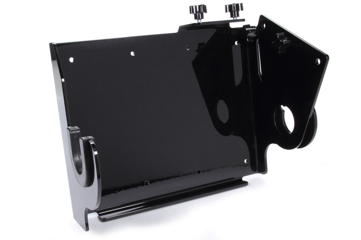 Hepfner Racing Products HRP6780-3-BLK Steering Box Rack, Wall Mount, Aluminum, Black Powder Coat, Each