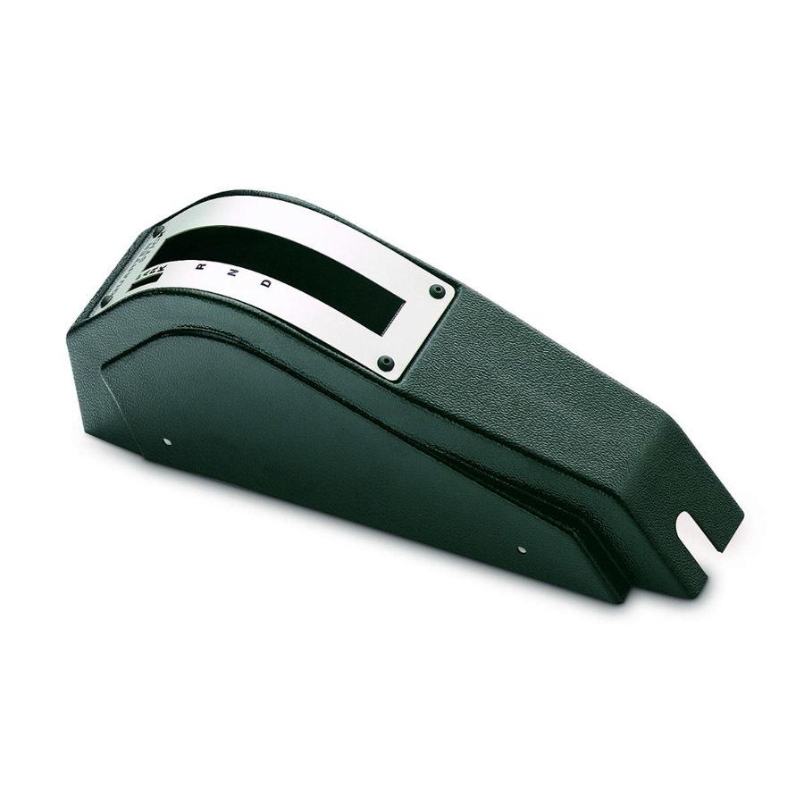 Hurst 130-0055 Shifter Cover, Plastic, Black, Hurst Quarter Stick / Pistol Grip Shifter, Each