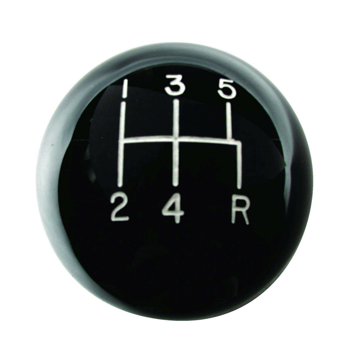 Mustang 5-Speed Black Classic Shift Knob
