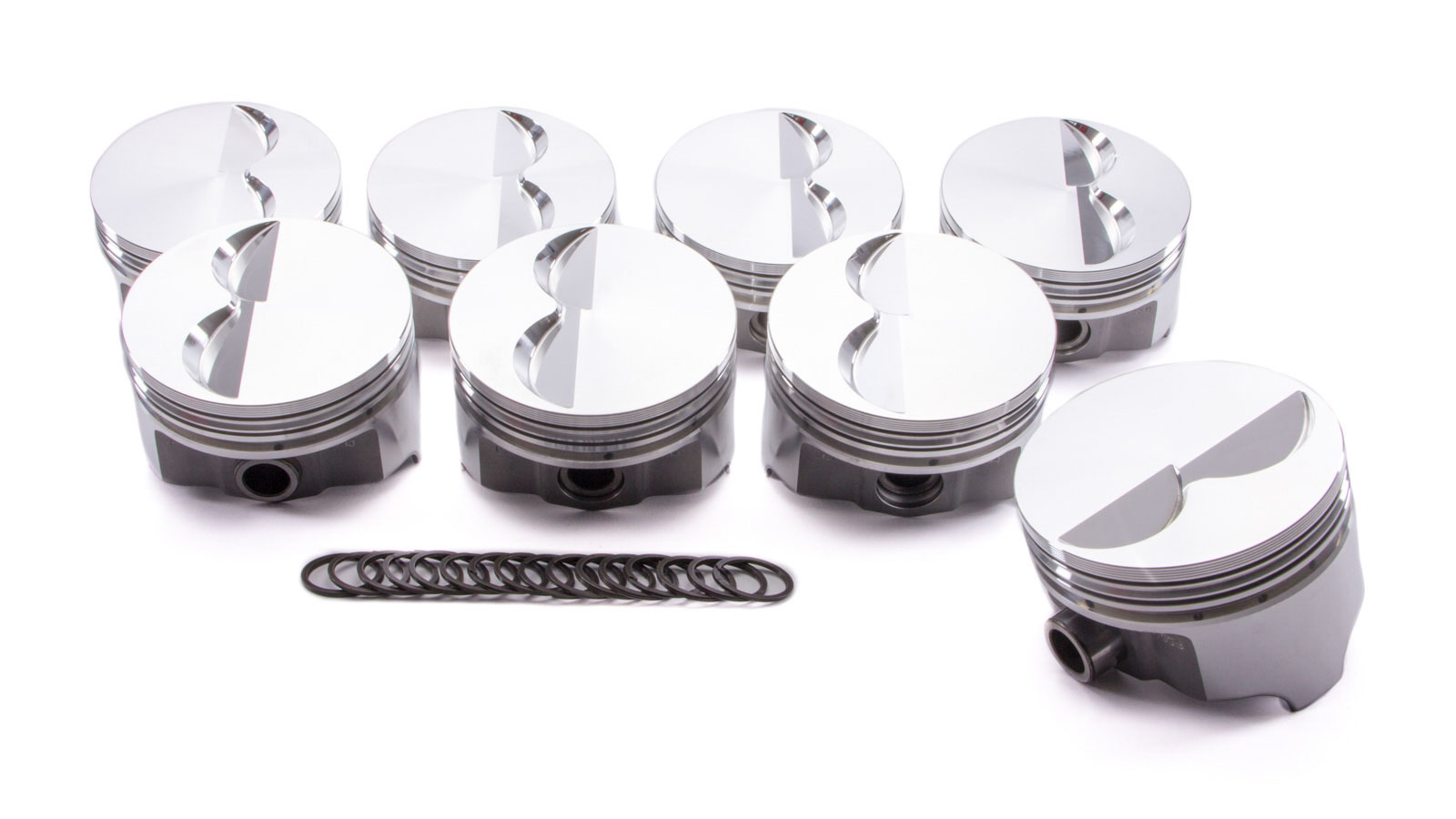 SBC Forged F/T Piston Set 4.040 Bore -4.86cc