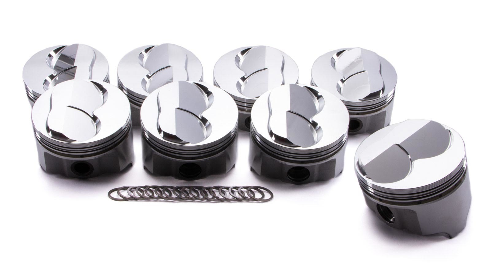 SBC Forged Domed Piston Set 4.030 Bore
