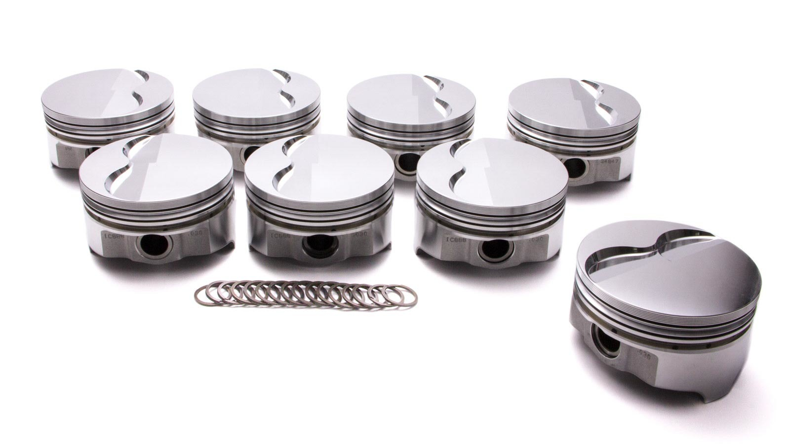 Pontiac 455 Forged F/T Piston Set 4.180 -5.5cc