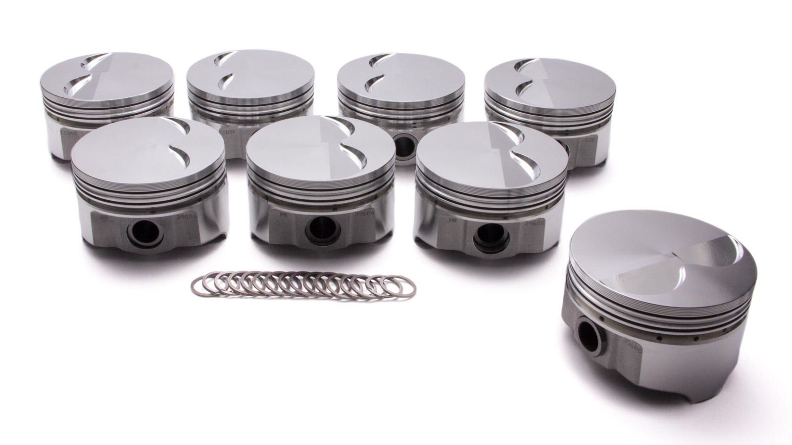 Pontiac 400 Forged F/T Piston Set 4.150 -4.5cc