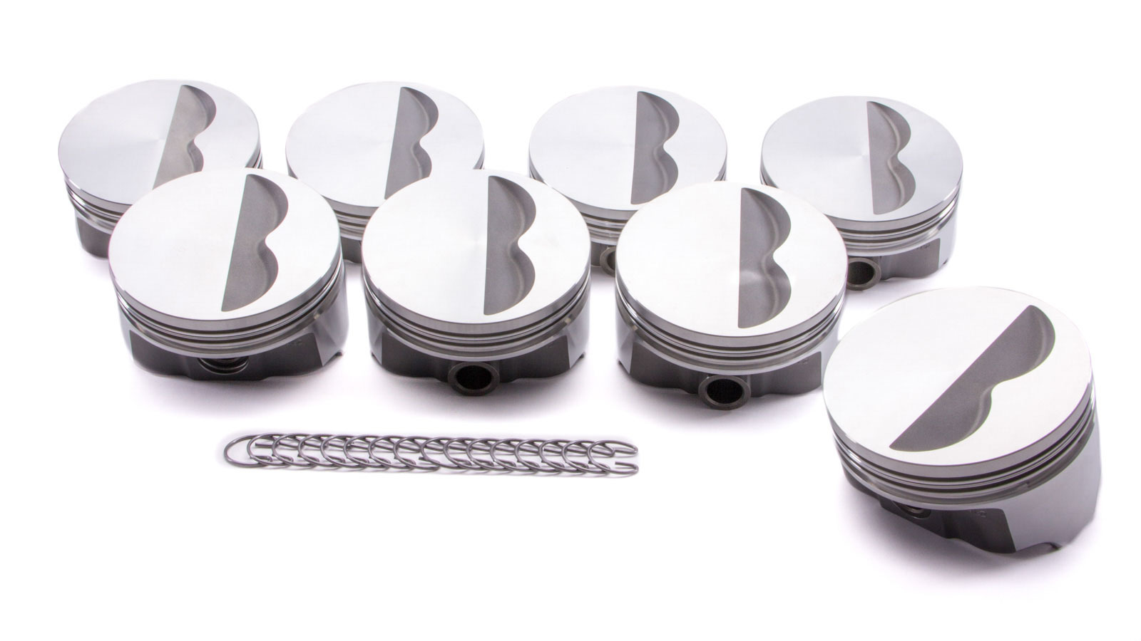 SBC FHR F/T Piston Set 4.155 Bore -3.7cc