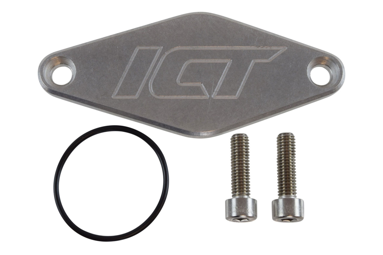 ICT Billet 551152 Fuel Pump Blockoff, Hardware / O-Ring, Aluminum, Natural, GM GenV LT-Series, Each