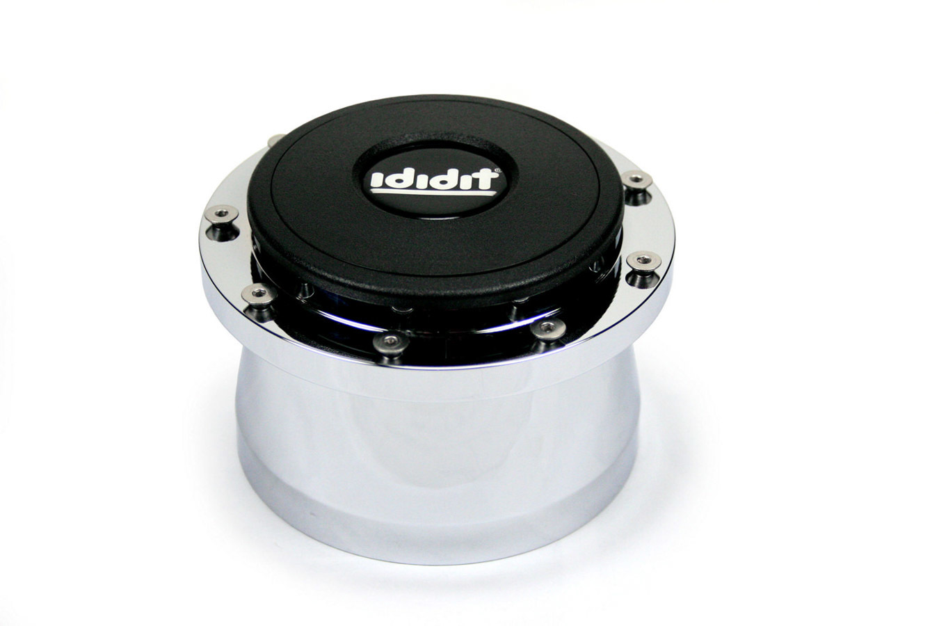 Adaptor 9 Bolt with Horn Button Brushed