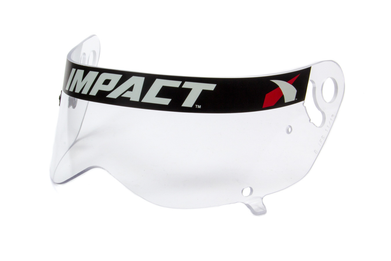 Impact Racing 11499901 Helmet Shield, Clear, Anti-Fog, Impact Mini-Champ Helmets, Each