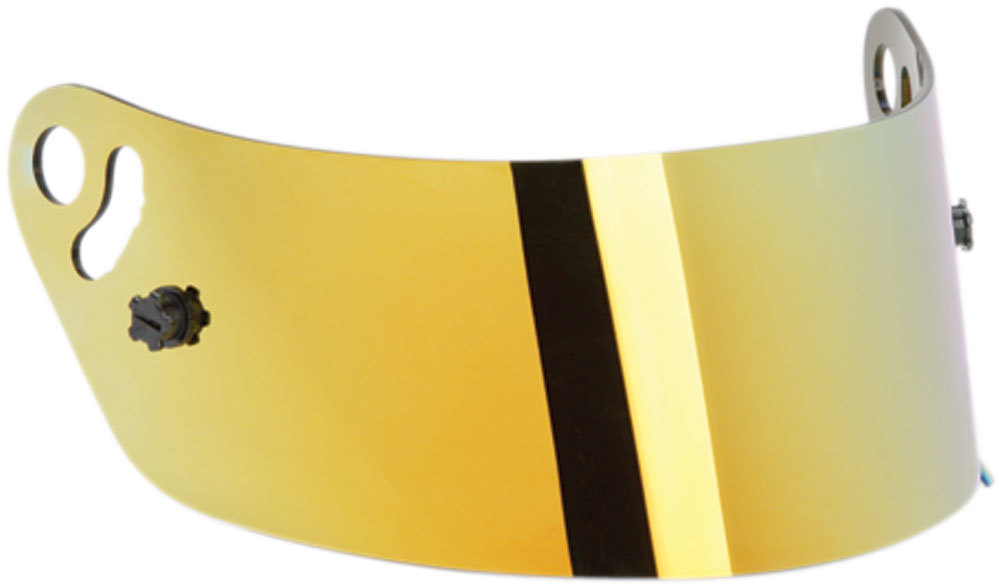 Impact Racing 12100905 Helmet Shield, Yellow, Vapor / Charger / Draft Model Helmets, Each