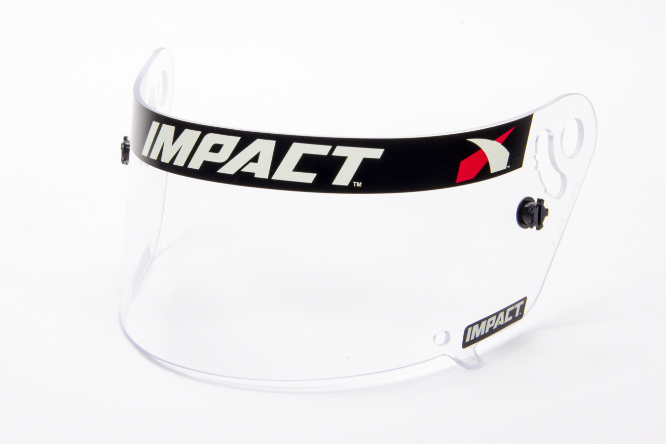 Impact Racing 12199901 Helmet Shield, Clear, Anti-Fog, Various Impact Helmets, Each