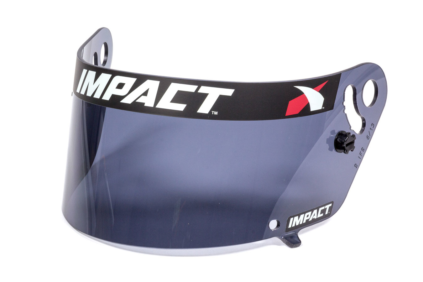 Impact Racing 12199903 Helmet Shield, Smoke, Anti-Fog, Various Impact Helmets, Each