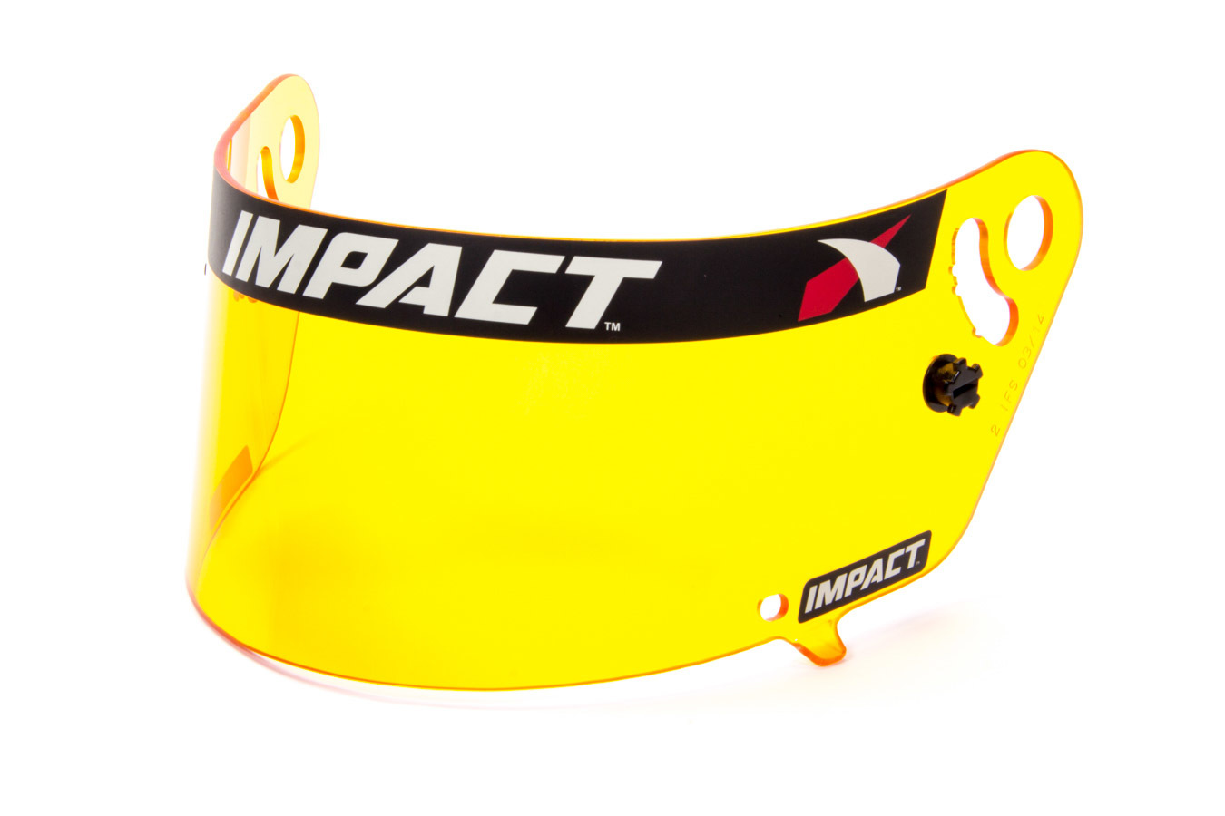 Impact Racing 12199904 Helmet Shield, Amber, Anti-Fog, Various Impact Helmets, Each