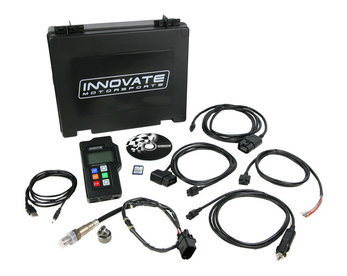 Innovate Motorsports 3806 Data Logger, LM-2, Wideband Controller, Single O2 Sensor, Hand Held, Digital, OBD-II Scanner, Universal, Kit