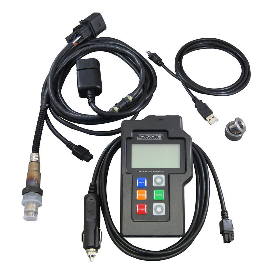 Innovate Motorsports 3837 Data Logger, LM-2 Basic Kit, Wideband Controller, Single O2 Sensors, Hand Held, Digital, OBD-II Scanner, Universal, Kit